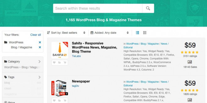 installare tema wordpress