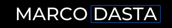 marco dasta logo nero blu