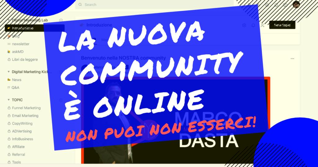 la nuova community