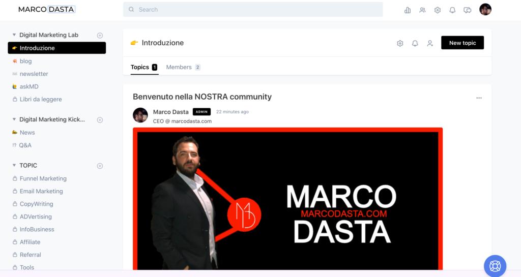 circle community marco dasta