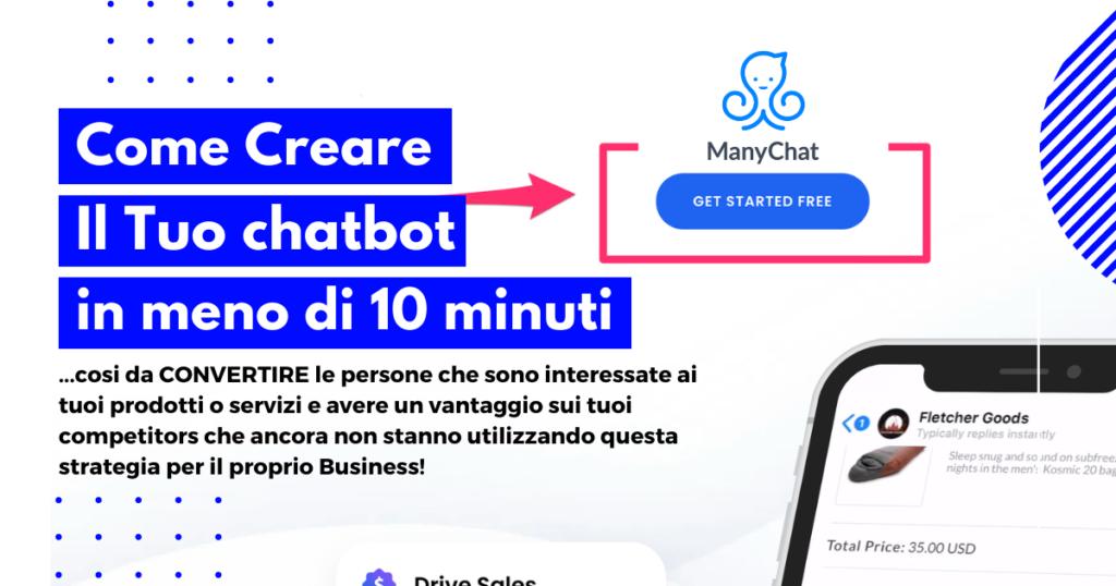 come creare il tuo chatbot messenger