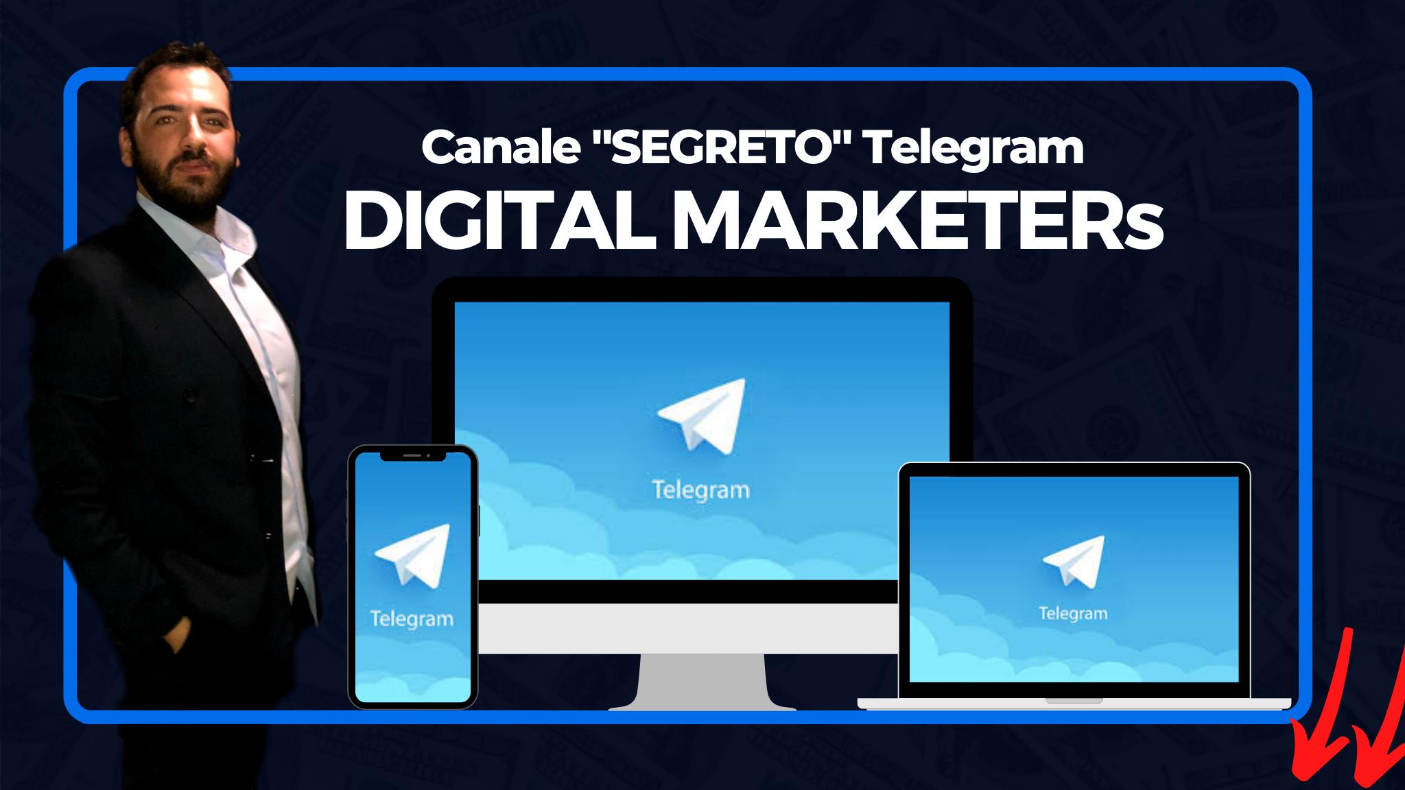 canale telegram marco dasta