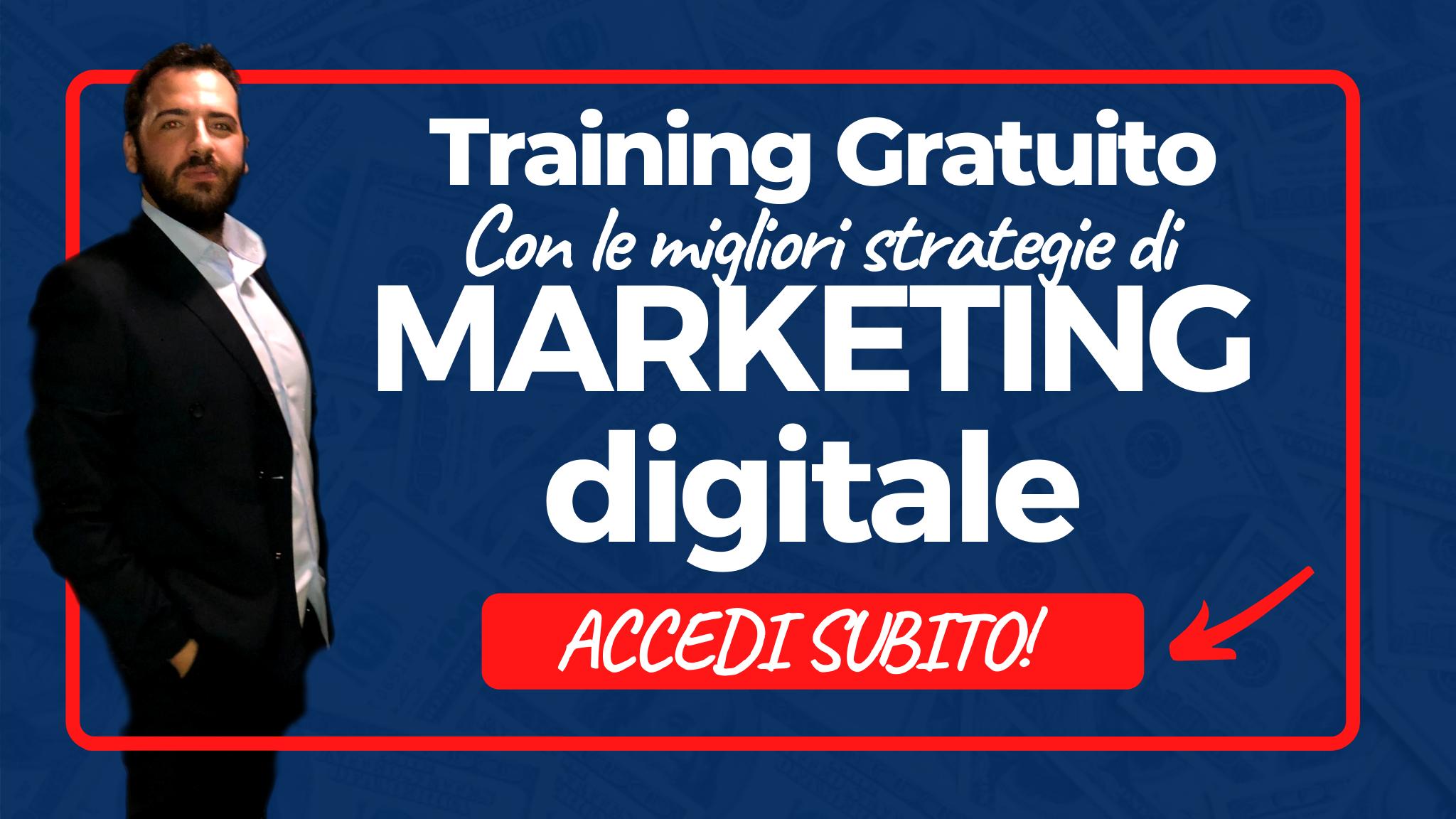 training marketing digitale marco dasta